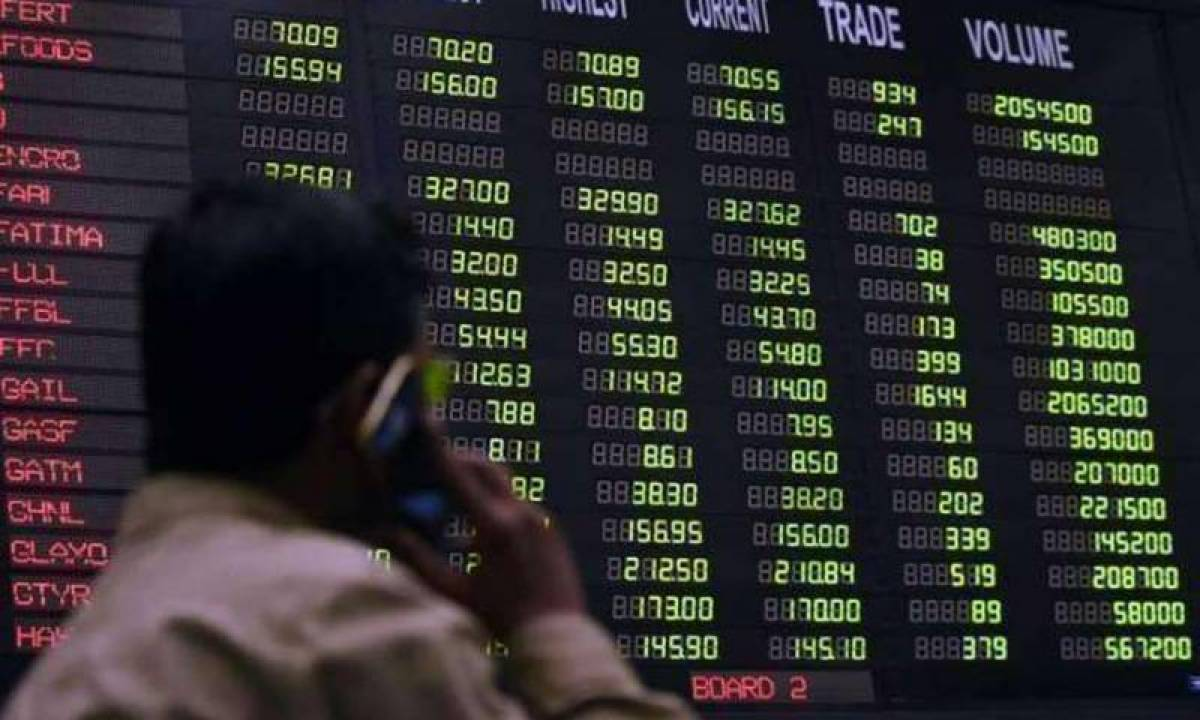 Pakistan Stock Exchange in negative territory yet again