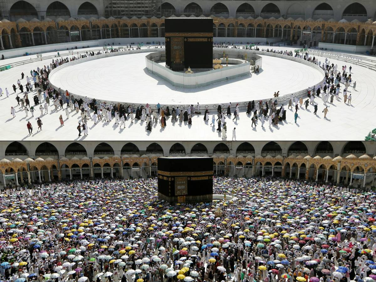 Doubts over hajj grow as 24-hour virus curfew imposed in Makkah, Madinah