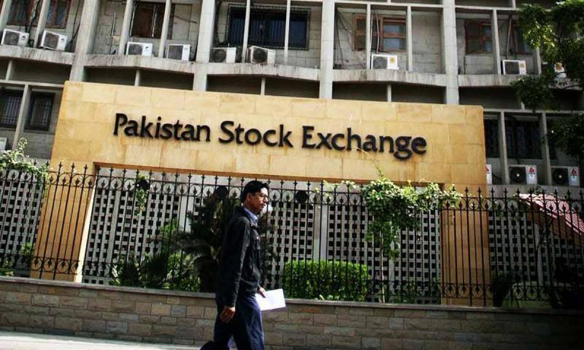 Pakistan Stock Exchange gains 866 points