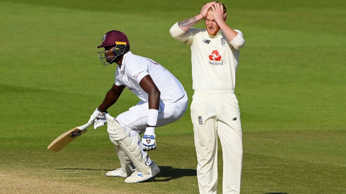 West Indies win 1st Test against England by four wickets