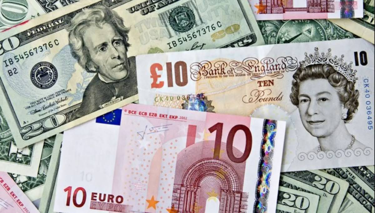 Rupee gets a hit against Euro, pound; dollar loses 20paisas