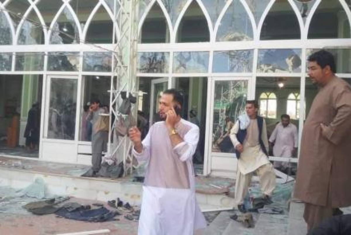 25 killed as blasts hit mosque in Afghanistan's Kandahar