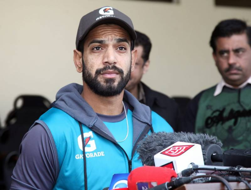Haris aims to end debut series against Bangladesh as best bowler