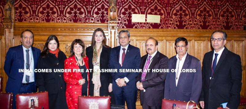 India comes under fire at Kashmir seminar at House of Lords
