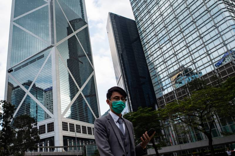 Wuhan virus compounds Hong Kong's economic woes