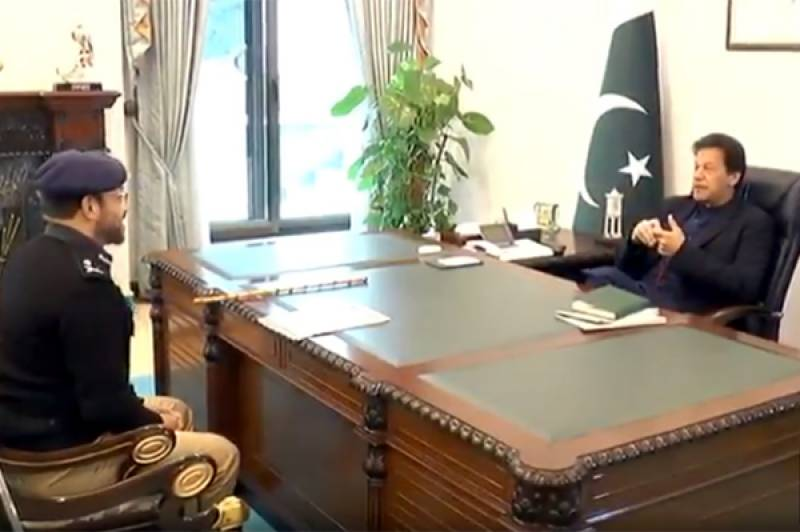 Sindh IGP calls on PM