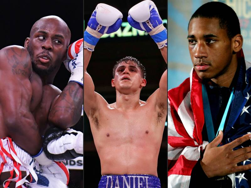 Three US world boxing champs defend crowns in Miami