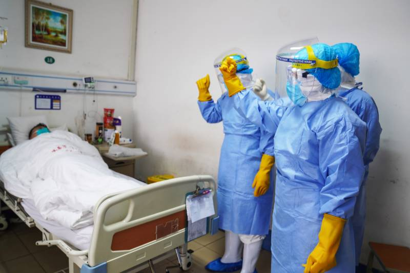 China's virus death toll rises to 259