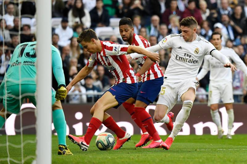 Zidane inspires Real Madrid to derby victory over Atletico