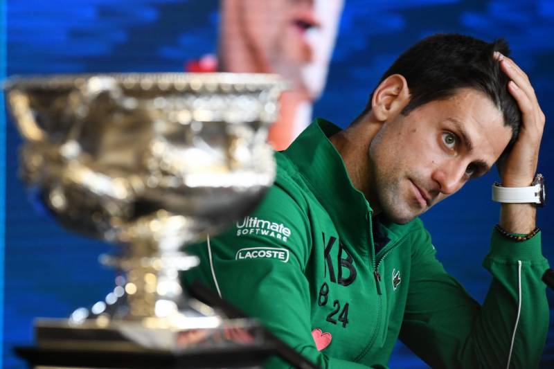 From turbulent childhood to tennis greatness: Djokovic becomes a fighter