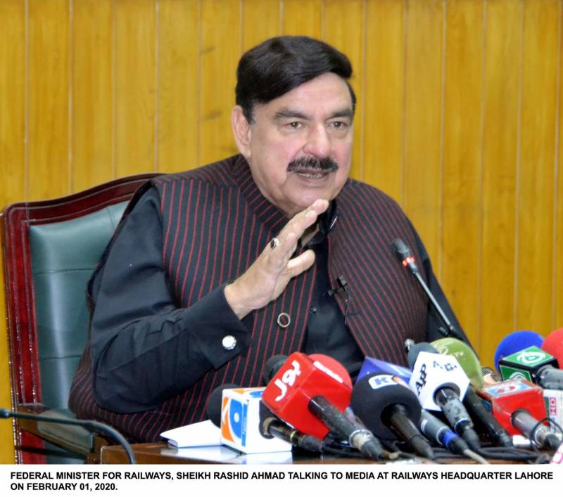 Train for Afghan trade soon: Sh Rashid