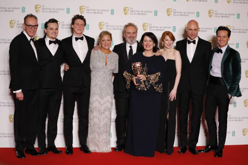 '1917' wins big at Baftas to take pole position for Oscars