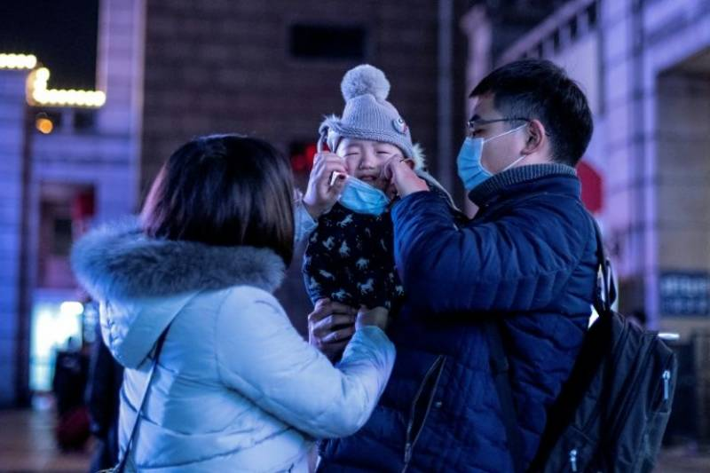 Baby tests positive for China virus just 30 hours after birth
