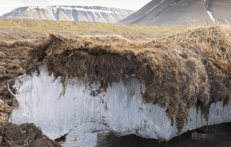 Permafrost collapse is speeding climate change: study