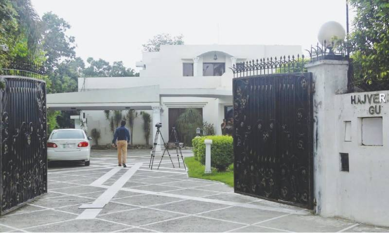 15 shelter seekers admitted to Ishaq Dar's house on first day