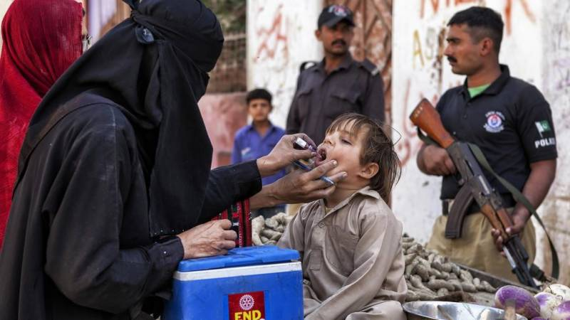 Polio cripples another four