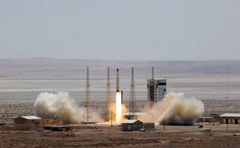 Iran starts countdown for satellite launch 'within hours'