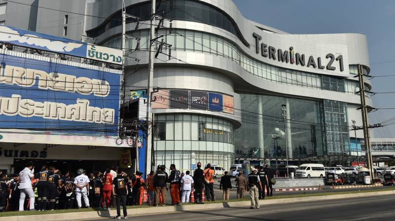 Thai soldier shot dead after deadly rampage at mall
