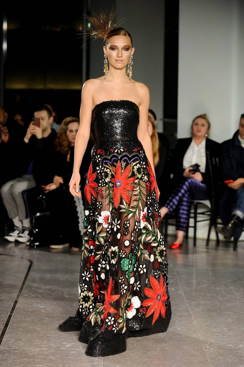 Celebs, rugs and rock 'n' roll: New York Fashion Week highlights