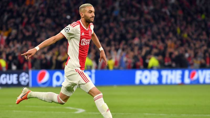 Ajax's Hakim Ziyech to join Chelsea in 40m-euro deal