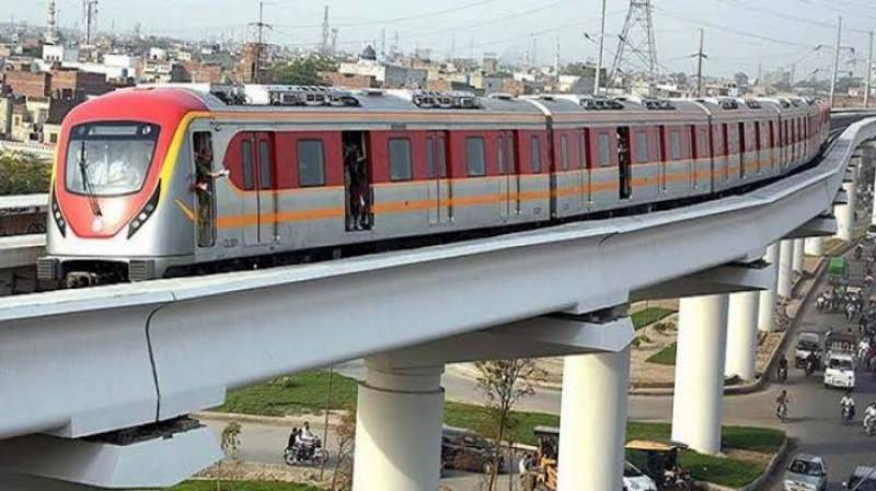 Orange Line Train to consume Rs88m electricity every month