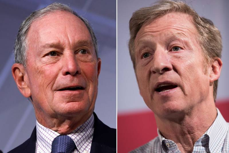 Billionaire candidates shake up Democratic White House race