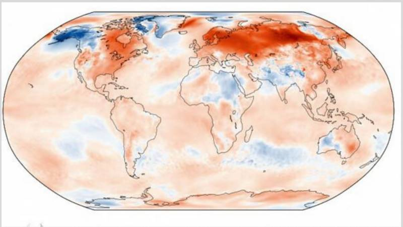 Last month was world hottest January on record