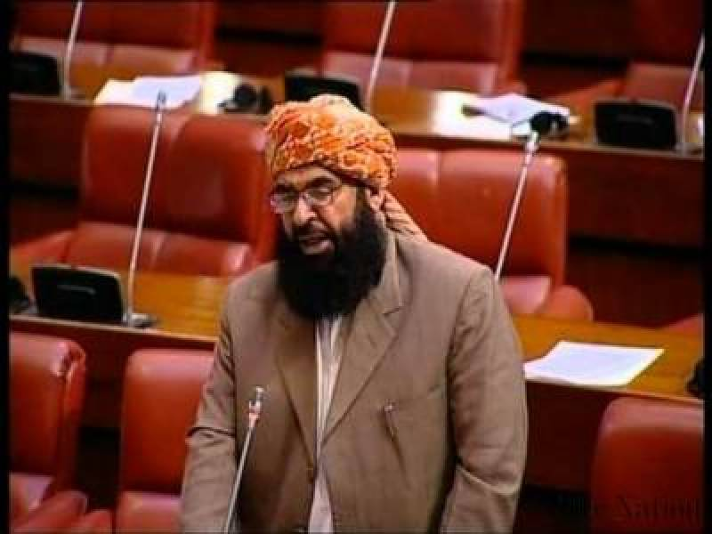 Maulana Haideri challenges PM to arrest, try JUI-F chief