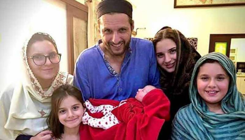 Shahid Afridi now dad of five wonderful daughters