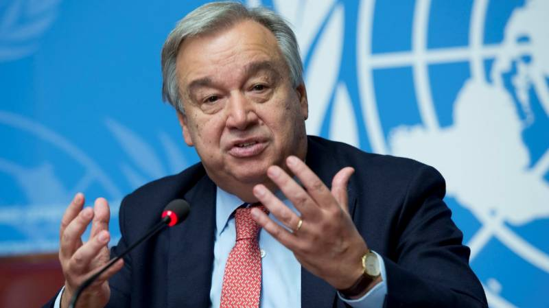 Antonio Guterres meets with delegation of refugees