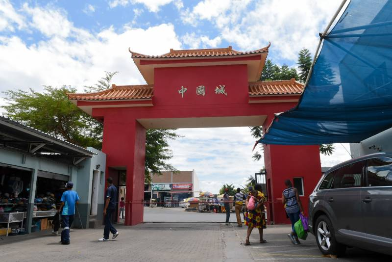 Chinese businesses in faraway Namibia feel virus fear