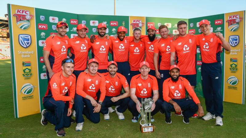Morgan leads England to T20 series win as 28 sixes rain down on Centurion