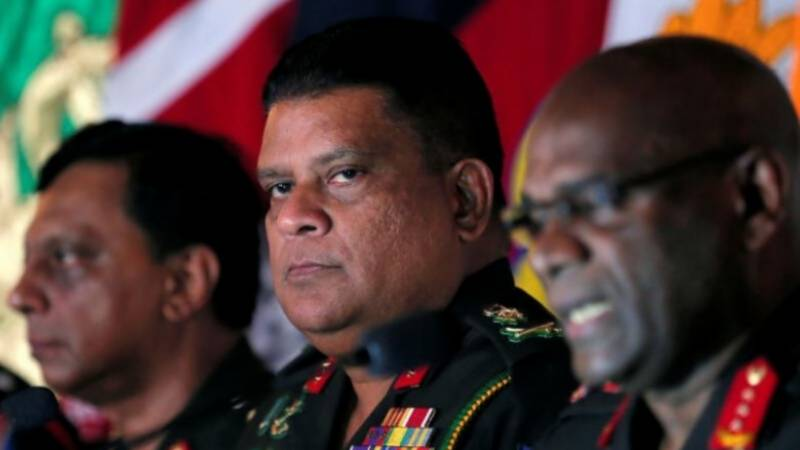 Sri Lanka calls on US to reconsider barring army chief