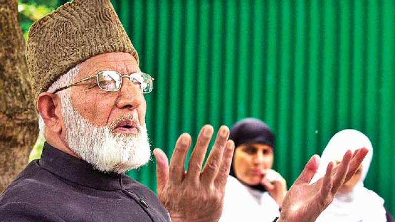Indian troops barring people from meeting ailing Kashmiri leader