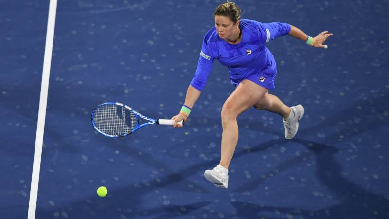 Clijsters loses first match in tennis comeback