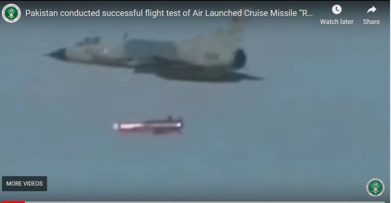 Pakistan successfully test-fires Ra'ad-II missile from air