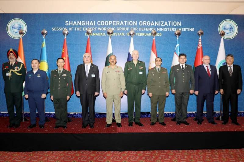 Indian military officer attends SCO meeting in Pakistan