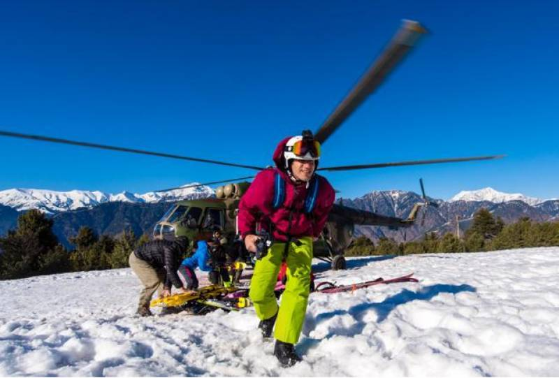 60 skiers take part in Shogran expedition