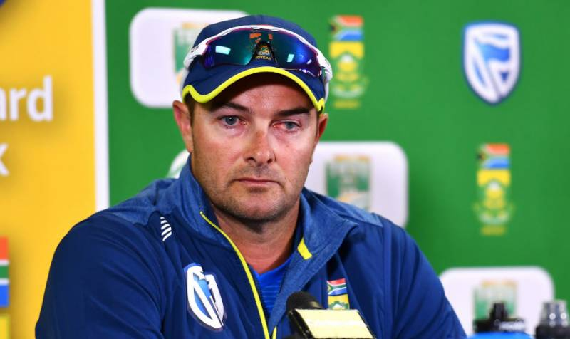 Step up or miss out, warns South Africa coach Boucher