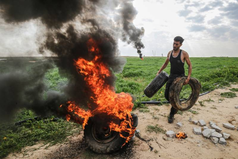 Rockets fired from Gaza after Israel kills Palestinian on border