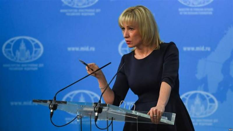 Russia says US claims it is fuelling virus alarm 'deliberately false'