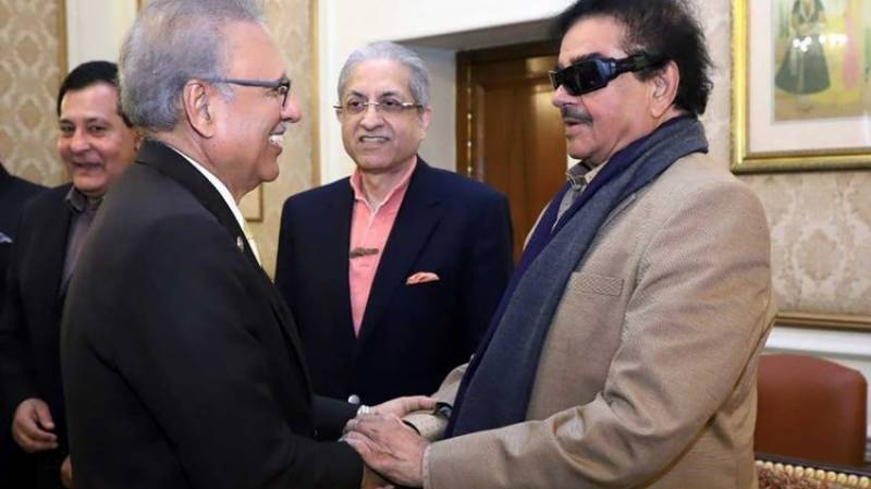 Shatrughan Sinha denies discussing Kashmir issue with Pakistan President