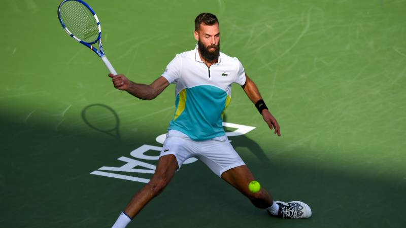 Paire hangs on to beat Cilic in Dubai