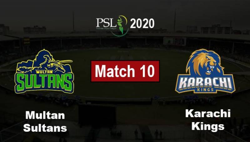 Karachi Kings win toss, invite Multan Sultans to bat