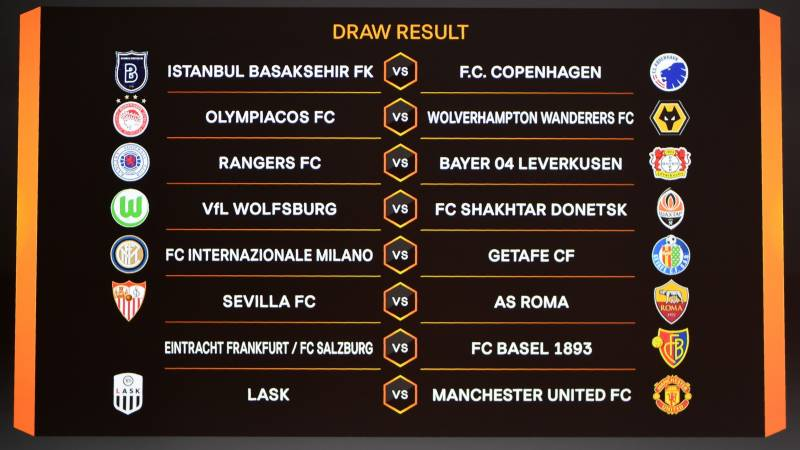 Man United to play Austria's LASK in Europa League last 16