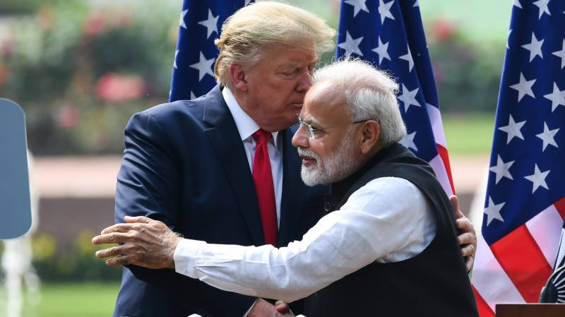 President Trump in India, his views on Kashmir and Pakistan