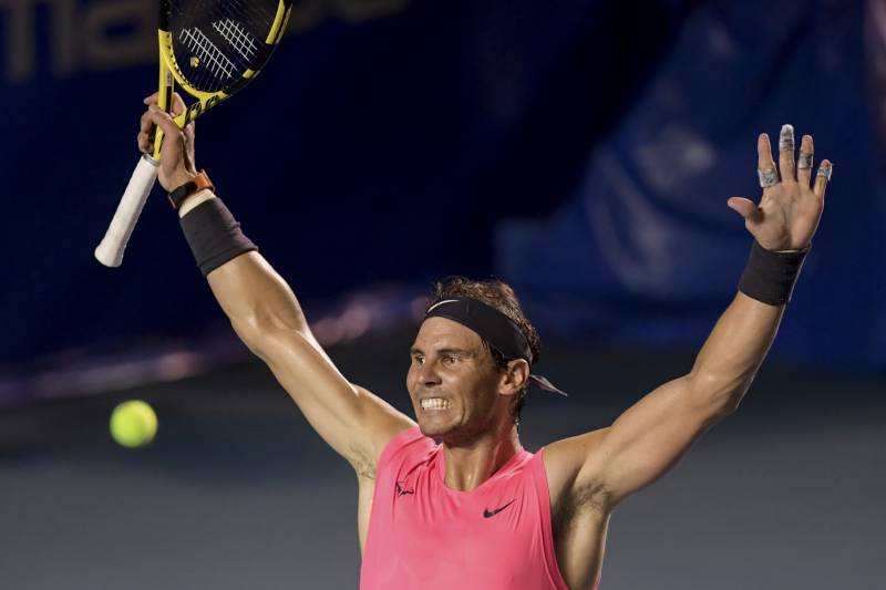 Nadal cruises past Fritz to win Acapulco title