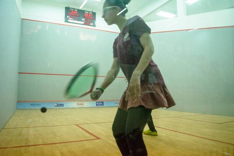 Nasir returns to competitive squash after doping ban