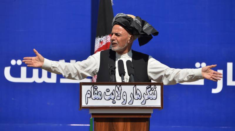 Ghani tells Taliban to cut ties with Pakistan for prisoners' release