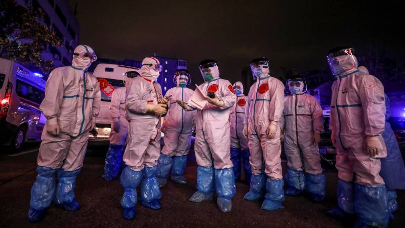 Protective gear to fight virus 'rapidly depleting': WHO